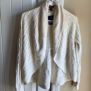 NWT Chaps open sweater cardigans
